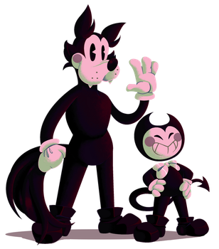 Bendy and Boris by SmatyPanty