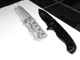 New Knife by meathive