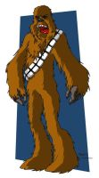 Chewbacca by elfiodor