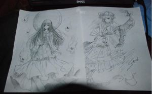 Sketchs from ST.06 by ChinAnime