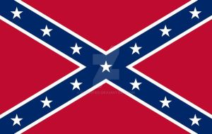 Confederate Flag by hassified