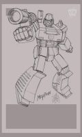 Megatron ANIMATION by FranciscoETCHART