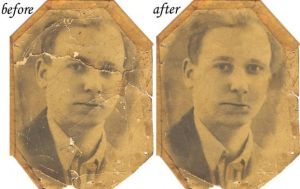 Photo restoration by Beckmyster