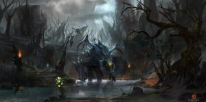 Roshan Dire Jungle by m1sk4