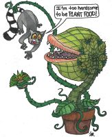 Twoey and King Julien by ponderinginsanity