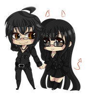 ::PC:: chibi Mark and Krill by AshleyShiotome
