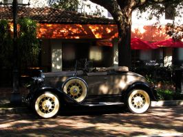 Antique Car by WisteriasWeb
