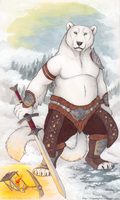 Polartiger Warrior by CunningFox