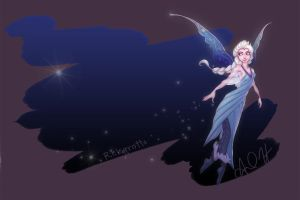 Frozen Fairy Queen Elsa by relsgrotto