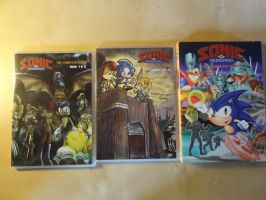 Sonic The Hedgehog The Complete Series DVD by KingAsylus91