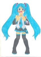 Hatsune Miku by animequeen20012003