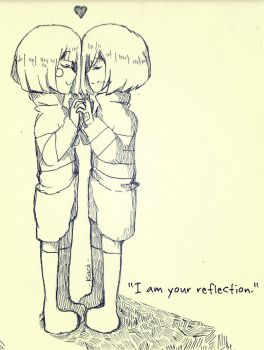 I am your reflection by kyashee