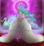 Princess celestia by Sparkly-Monster