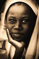 african beauty by MahmoudYakut