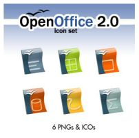 OpenOffice 2.0 Icon Set by deelo