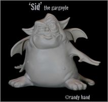 Sid the Gargoyle by RandyHand
