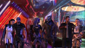 Mass Effect 3: A night on the Citadel by Lootra