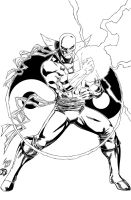 Iron Fist Inked by BDStevens