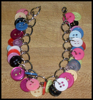 Rainbow of Colors Bracelet by sparx222