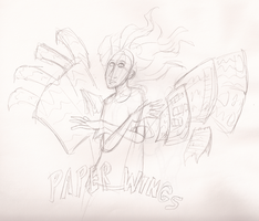 29- Paper Wings by CarrieExMachina