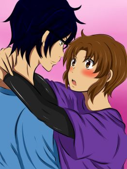 close to you - Dennis and Kay OC's Yaoi by x-Sneering-Blaze-x