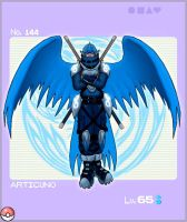 Pokedex Project: Articuno by ember-reed