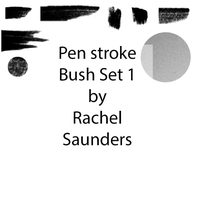 Pen stroke set 1 by Random-Acts-Stock