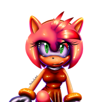 Sexy Amy Color by ShadowFan0x0