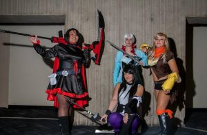 RWBY Cosplay Group I made by Tejnin