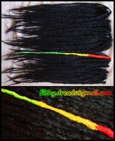 natural dreads black I by FilthyDreads