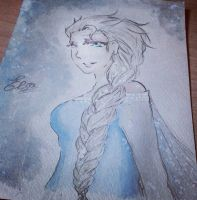 - Elsa the Snow Queen - by MinatoP3-Tatty