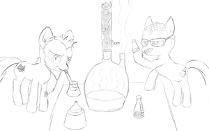 Cooking: Breaking Bad Style - NATG Day 19 by FeralDrive