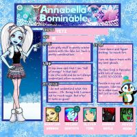 MMS: Annabella 'Bella' Bominable by GothicKitta