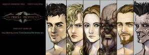 The Obsera Prophecies main characters by DavidGalopim