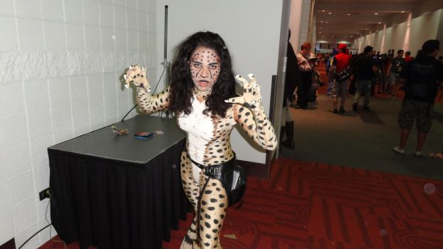 Comic Con 2017 Day Two: Cheetah by Mr-Herp-Derp