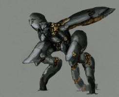 Metal Gear Ray by fernz