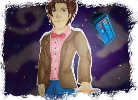 Eleventh Doctor by nupao