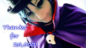 Thanks for 20,000 by SugarBunnyCosplay