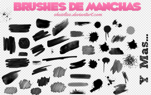 Brushes De Manchas ~~ by SheIsLizz