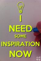 I need some inspiration now by JustMiracleZ
