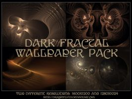 Dark Fractal Wallpaper Pack by Brigitte-Fredensborg