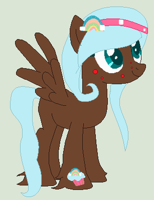 Cupcake Pony For CandiCati by ChocoCookiePuppy