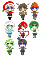 Christmas Adopts :Open: by Ravendrop