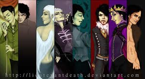 Character Timeline: Gerard by LieutenantDeath