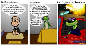 An Upgrade in Awesome by MFM-comics