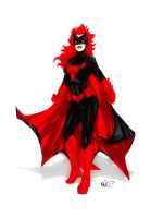 Quickie Batwoman by micQuestion