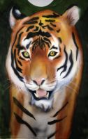 Tiger Portrait by BL-Airbrush