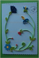 Quilling - Card 12 by Eti-chan