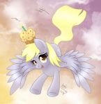 MLP FIM - Derpy's Birthday Gift Delivery by Joakaha