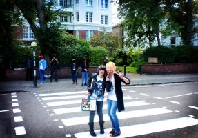 Let's go across the Abbey Road by Murdoc-lein